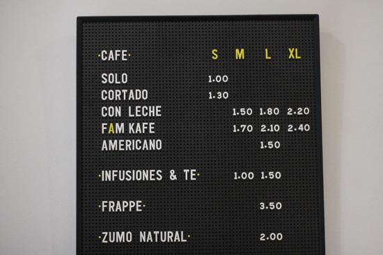 Buen café señor