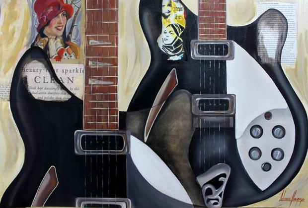 guitarras-adriana-ibargoyen-exposicion-principe-cines