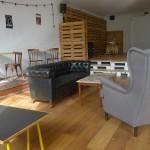 muebles vintage y escenario