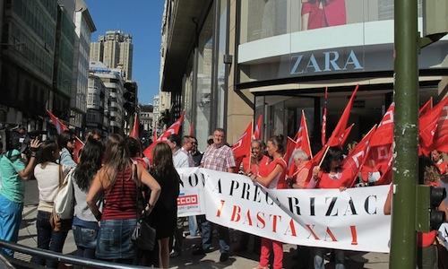 Zara-protestas