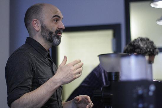 Javier García: el maestro cafetero en su txoko hablando de su pasión