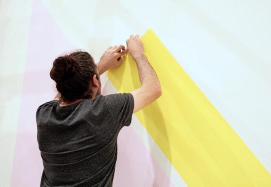 Los chicos de 400 Muralismo adornandolas paredes