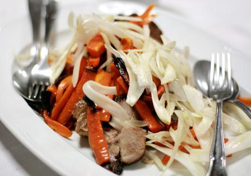 Llega lo bueno y contundente: el plato principal