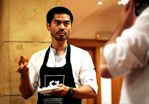 El chef rutilante